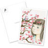 Das Kirschblütenmädchen