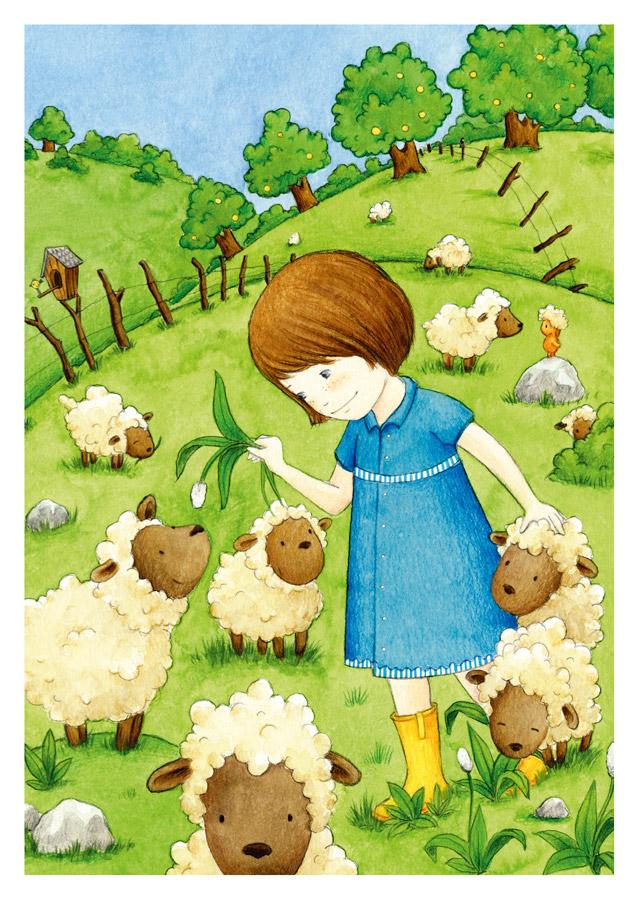 Das Schafmädchen