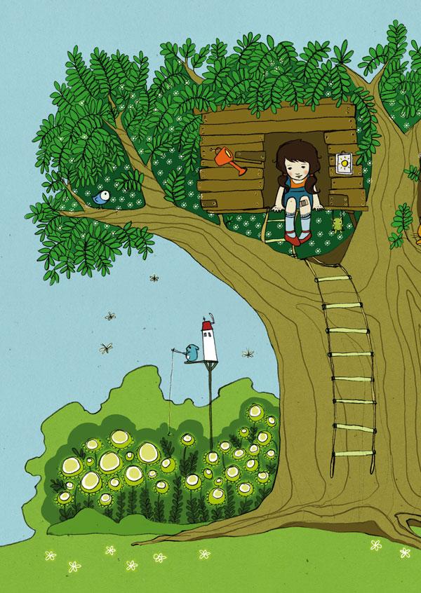 Das Baumhausmädchen