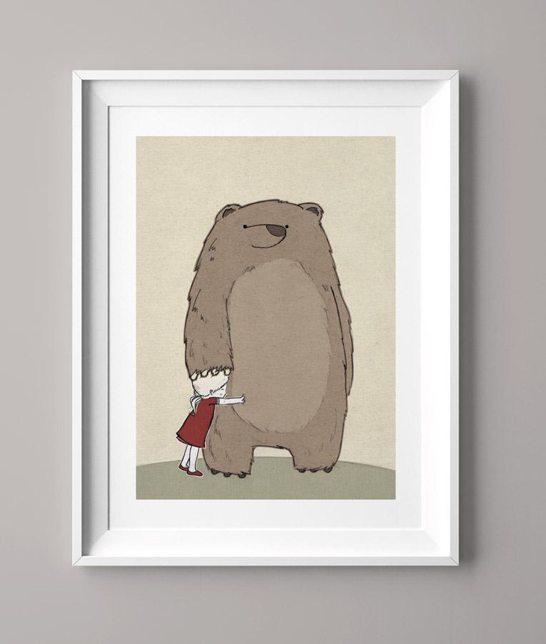 Das Bärenmädchen