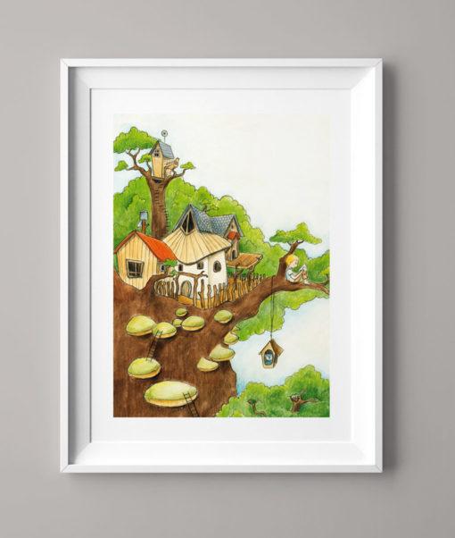 Der Baumhausjunge