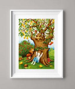 Das Birnbaummädchen