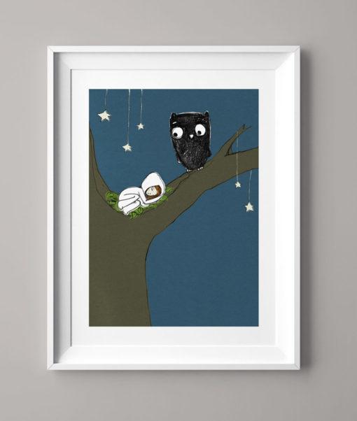 Das Eulenmädchen