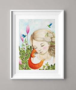 Das Kolibrimädchen