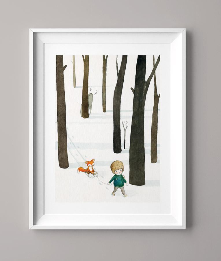 Der Waldjunge