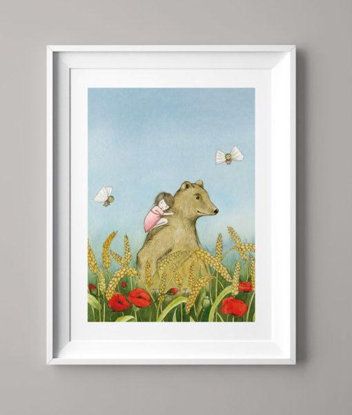 Das Weizenfeldmädchen