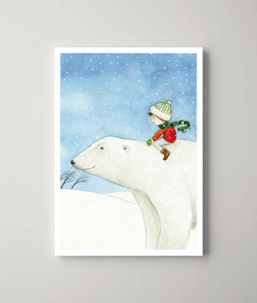 Eisbärjunge