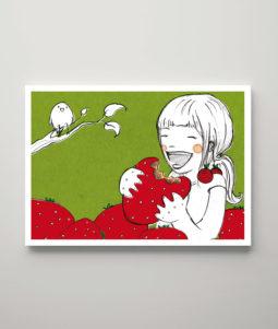 Das Erdbeermädchen