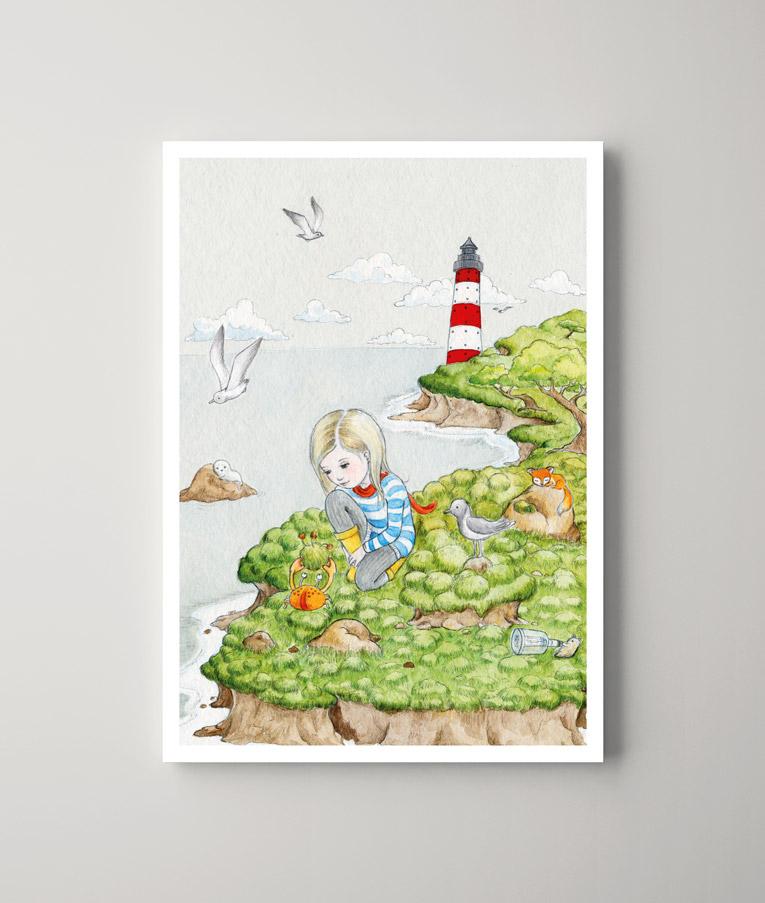Das Küstenmädchen