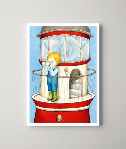 Der Leuchtturmjunge