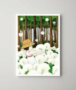 Das Pusteblumenwaldmädchen