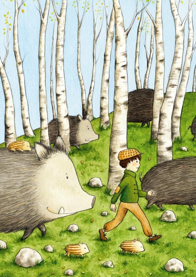 Die Wildschweinbande