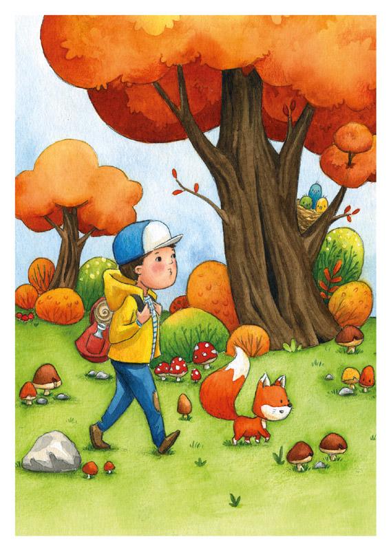 Die kleinen Herbstfreunde