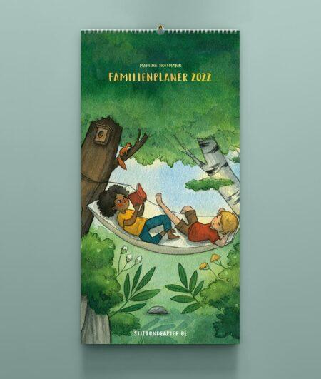 Familienplaner 2022 – Titelblatt
